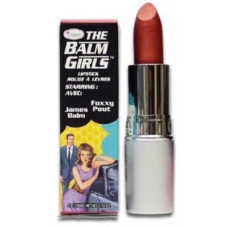 theBalm Foxxy Pout Lipstick