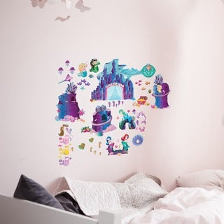 Peel and Play 'Mermaid City' Wall Decal Set