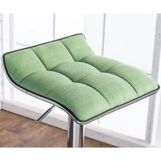 Furniture of America Celia Modern Adjustable Swivel Bar Stool