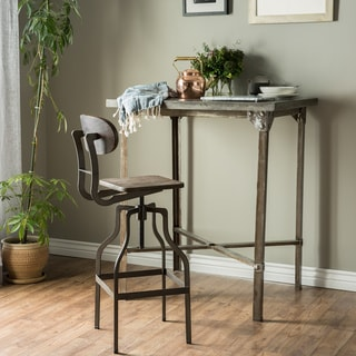 Link to Furniture of America Damien Industrial Swivel Bar Chair Similar Items in Dining Room & Bar Furniture