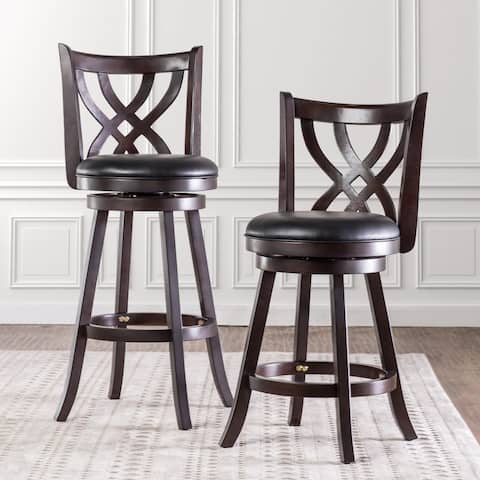 Furniture of America Reto Transitional Espresso Faux Leather Chair