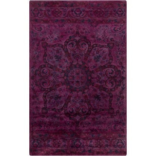 Hand-Tufted Lilburn Oriental Wool Rug (3'3 x 5'3)