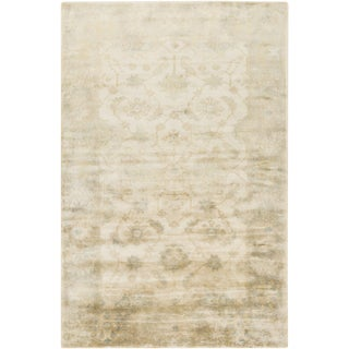 Hand-Knotted Candice Floral New Zealand Wool Rug (3'9 x 5'9)