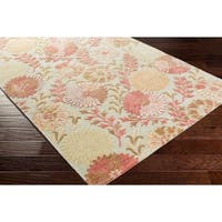 Hand-Tufted Faye Contemporary New Zealand Wool Area Rug