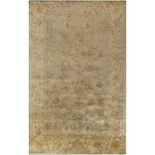 Hand-Tufted Farrah Traditional New Zealand Wool Rug (3'3 x 5'3)