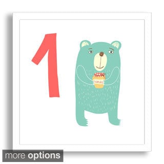 Gallery Direct Why Not Me CZ's 'Learn to Count: One Hungry Bear' Framed Paper Art