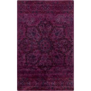 Hand-Tufted Lilburn Oriental Wool Rug (5' x 8')
