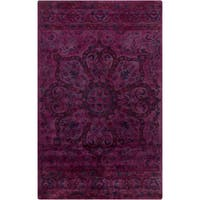 Hand-Tufted Lilburn Oriental Wool Area Rug - 5' x 8'