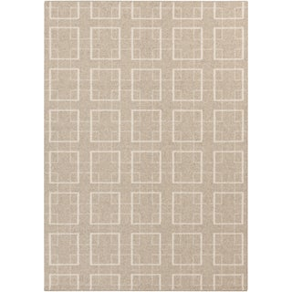 Meticulously Woven Edward Contemporary Wool Rug (5' x 8')