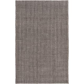 Hand-Woven Gideon Casual Felted Wool Rug (5' x 7'6)
