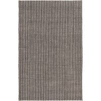 Hand-Woven Gideon Casual Felted Wool Area Rug - 5' x 7'6""