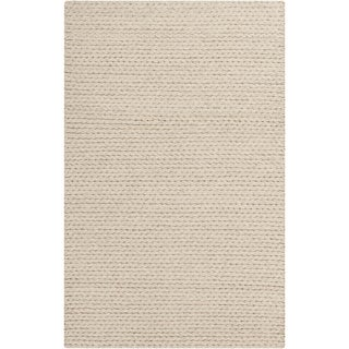 Hand-Woven Gerard Country Felted Wool Area Rug