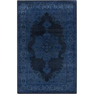 Hand-Tufted Linhope Oriental Wool Area Rug