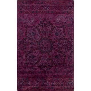 Hand-Tufted Lilburn Oriental Wool Area Rug
