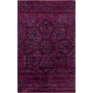 Hand-Tufted Lilburn Oriental Wool Rug (2' x 3')