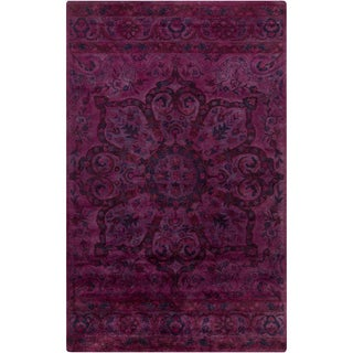 Hand-Tufted Lilburn Oriental Wool Rug (8' x 11')