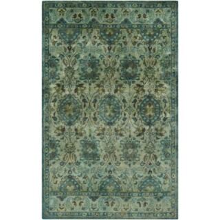 Hand-Tufted Lomond Paisley Wool Rug (5' x 8')