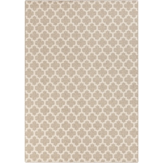 Meticulously Woven Harold Contemporary Wool Rug (2' x 3')