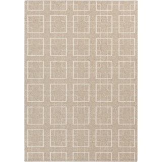 Meticulously Woven Edward Contemporary Wool Rug (2' x 3')