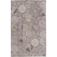 Hand-Tufted Donald Contemporary New Zealand Wool Area Rug - 9' x 13'