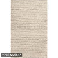 Hand-Woven Gerard Country Felted Wool Area Rug (8' x 10')
