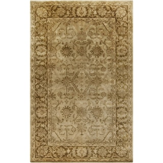 Hand-Tufted Faseny Traditional New Zealand Wool Rug (2' x 3')