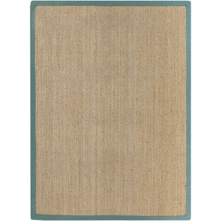 Hand-Woven Erskine Country Seagrass Rug (2' x 3')