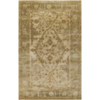 Hand-Tufted Felder Traditional New Zealand Wool Area Rug - 9' x 13'