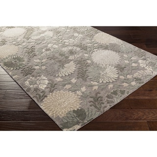 Hand-Tufted Faye Contemporary New Zealand Wool Rug (5' x 8')