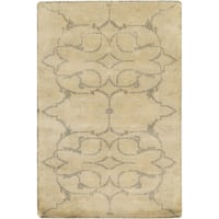Hand-Knotted Wesley Floral New Zealand Wool Area Rug - 5'6 x 8'6'