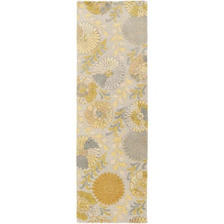 Hand-Tufted Faye Contemporary New Zealand Wool Rug (2'6 x 8')