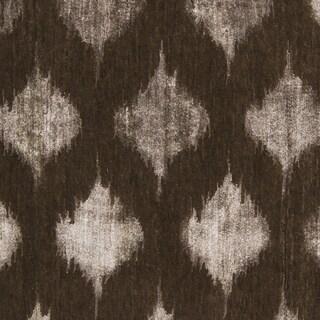 Hand-Knotted Yolanda Ikat New Zealand Wool Rug (2' x 3')