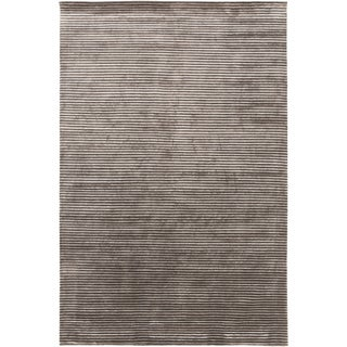 Hand-Knotted Zachary Solid New Zealand Wool Rug (8' x 11')