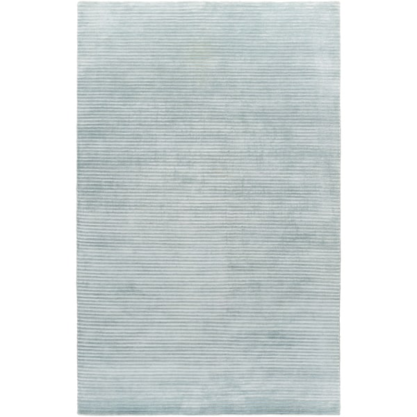 Hand-Knotted Zachary Solid New Zealand Wool Rug (5' x 8')