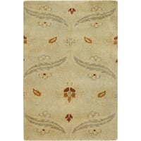 Hand-Knotted Westin Floral New Zealand Wool Area Rug (2' x 3') - 2' x 3'