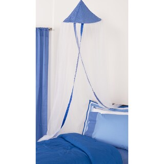 Simplicity Blue - Canopy  sc 1 st  Overstock.com & Bed Canopies For Less | Overstock.com