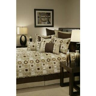 Sherry Kline Metro Taupe 4-piece Comforter Set