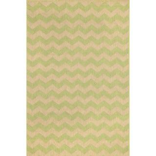 Liora Manne Geometric Stripe Outdoor Rug (3'3X4'11)