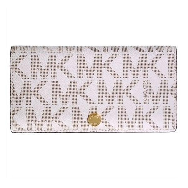 177641695055 Shop MICHAEL Michael Kors Signature Large Slim Saffiano Leather ...