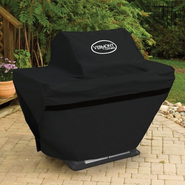 Vermont Castings Black 3-burner Grill Cover