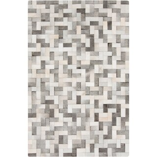Handmade Phillip Check Pattern Leather Rug (2' x 3') https://ak1.ostkcdn.com/images/products/9912485/P17070658.jpg?_ostk_perf_=percv&impolicy=medium