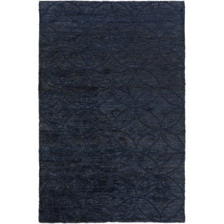 Hand-Knotted Monique Geometric Pattern Jute Rug (8' x 11')