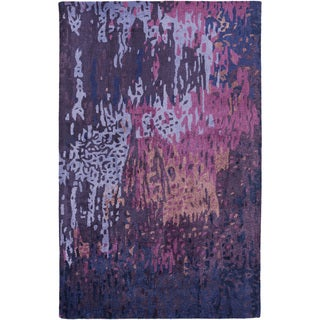 Hand-Tufted Savanna Abstract Pattern Indoor Rug (5' x 8')
