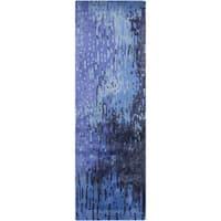 Hand-Tufted Savanna Abstract Pattern Indoor Area Rug (2'6 x 8')