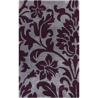 Hand-Tufted Effie Floral Polyester Rug (9' x 13')