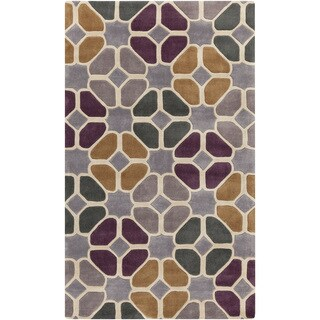 Hand-Tufted Eddleston Geometric Polyester Rug (9' x 13')