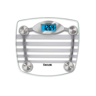Taylor 7577 Chrome and Glass Electronic Digital Scale