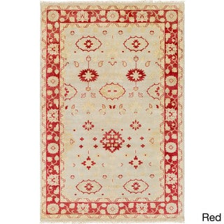 Hand-Knotted Darnell Floral New Zealand Wool Rug (2' x 3')