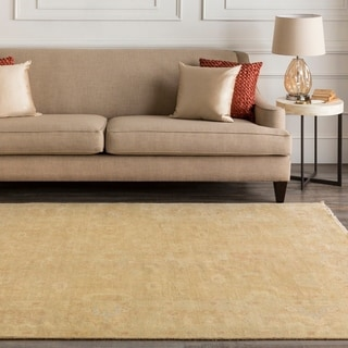 Hand-Knotted Delores Floral New Zealand Wool Area Rug - 2' x 3'