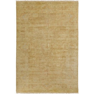 Hand-Knotted Delores Floral New Zealand Wool Rug (3'6 x 5'6)